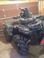 2008 Suzuki king quad 750 axi