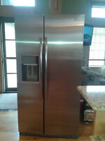 Whirlpool Gold Side by Side Stainless Steel Refrigerator
