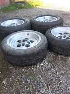 Set of 4, 15 inch tires and rims Stratford Kitchener Area image 2