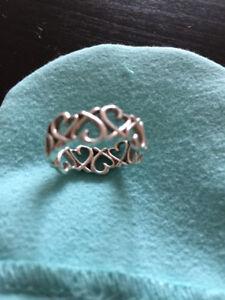 Tiffany Ring Loving Heart