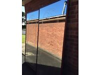 Mirror sliding wardrobe doors