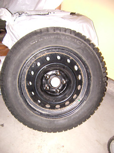 Winter Tires Plus Rims (5-bolt pattern)