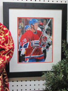 """Signed Kyle Chipchura Photo in Frame 14"""" x 16"""""""
