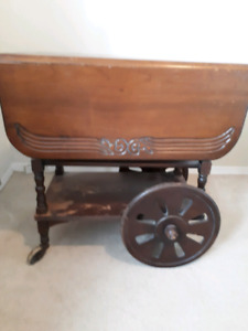 Antique tea wagon for sale!