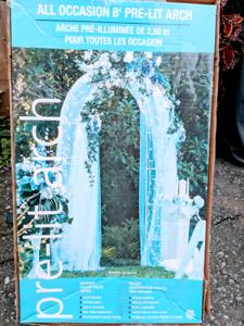 Wedding arch - $40