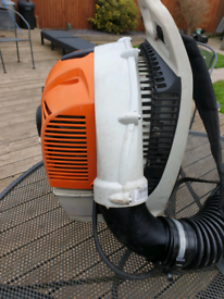 Stihl 2013 BR350 Backpack blower with 2016 BR430 engine fitted
