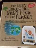 Homemade baby food cookbook