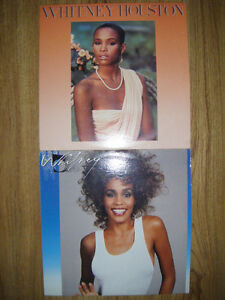 2 Whitney Houston records for sale