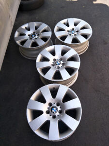 18 in. original BMW mags good condition