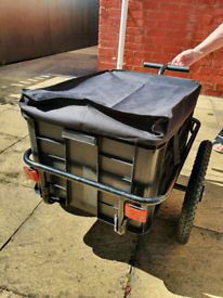 Universal mobility scooter trailer