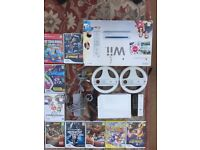 Wii games console and games