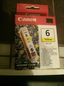 Canon 6 Yellow Ink New