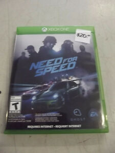 NEED FOR SPEED GAME XBOX ONE