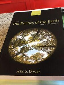 Politics of the earth by John S. Dryzek