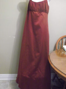 Alfred Angelo Burgundy Formal Dress-Size 8/10-Reduced Price