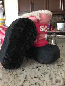 Toddler Sorel winter boots Kitchener / Waterloo Kitchener Area image 1
