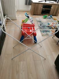 Free clothes airer