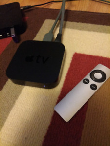 Apple tv 2 with remote and hdmi