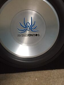 """2 12"""" subs in custom ported box."""