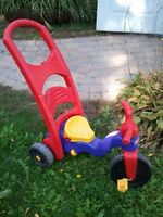 Tricyle Pousette Fischer Price Push Toddler Tricycle