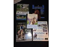 Variety of horsey books. All in great condition.