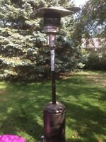 Deck or Patio Heater Lamp -Works Perfectly, propane fuelled