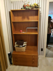Made in Denmark Denka Teak Wall Unit with Drawers