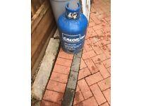 Empty 15kg gas bottle