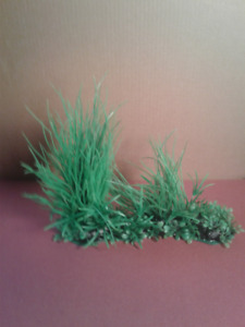 Aquarium Green Grass Plant Decoration