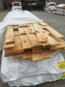 1x6x16 Red Pine T&G BUNDLES - LUMBER CLEAROUT