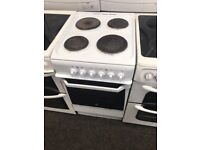 Free standing electric cooker 3 month warranty free delivery
