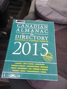 Canadian Almanac & Directory 2015: Repertoire Et Almanach Canadi