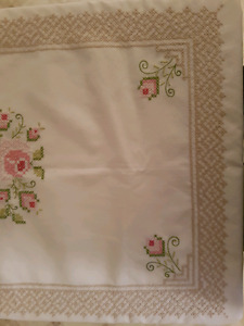 Handmade Embroidered Tablecloth