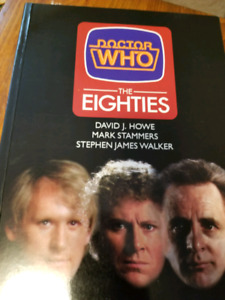 Dr. Who The Eighties book