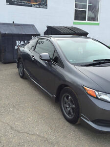 2012 Honda Civic Lx Coupe (2 door)