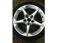 18 inch Vauxhall Penta sri alloy wheel and tyre