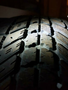 1  -    215/70R16    Firestone Winterforce Winter Tire   $25