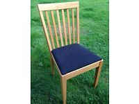 Ikea Oak Egon Dining Chair (2 available)