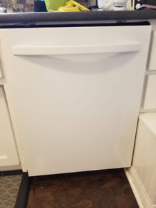 REDUCED PRICE! Kenmore Dishwasher White Stainless Steel Interior
