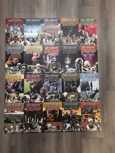Walking Dead Graphic Novels #1-20