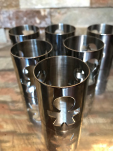 Alessi Italy Stainless Steel Set of 6 Napkin Rings by King-Kong