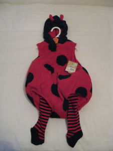 **Child's 18 Month Ladybug Outfit**