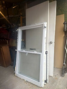 Large sliding vinyl window