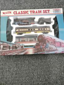 Retro train set