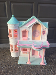 Vintage Barbie Victorian Dream House with Elevator