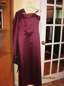 Robe d'occasion en satin