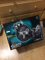 Volant jeu video PC PS2 PS3 PS4 steering wheel
