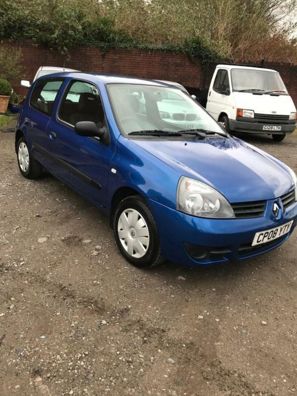 2008 renault clio 1 2 60bhp campus low insurance new m o t in swansea gumtree. Black Bedroom Furniture Sets. Home Design Ideas