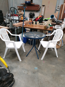 OUTDOOR TABLE & 2 CHAIRS Wangara Wanneroo Area Preview