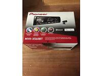 Car stereo PIONEER MVH-X560BT
